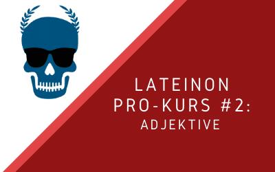 Pro-Kurs #1: Adjektive [verfügbar ab Mai 2021]